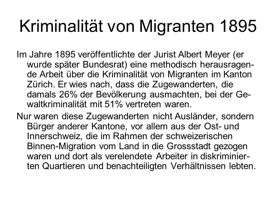 Kriminalität von Migranten 1895
