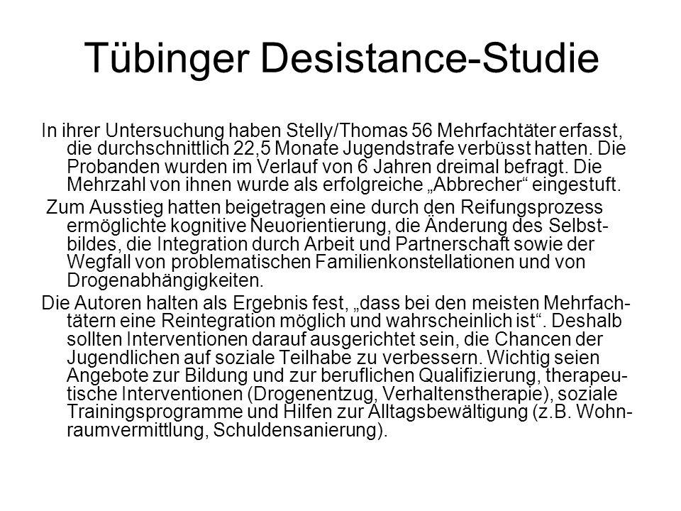 Tübinger Desistance-Studie