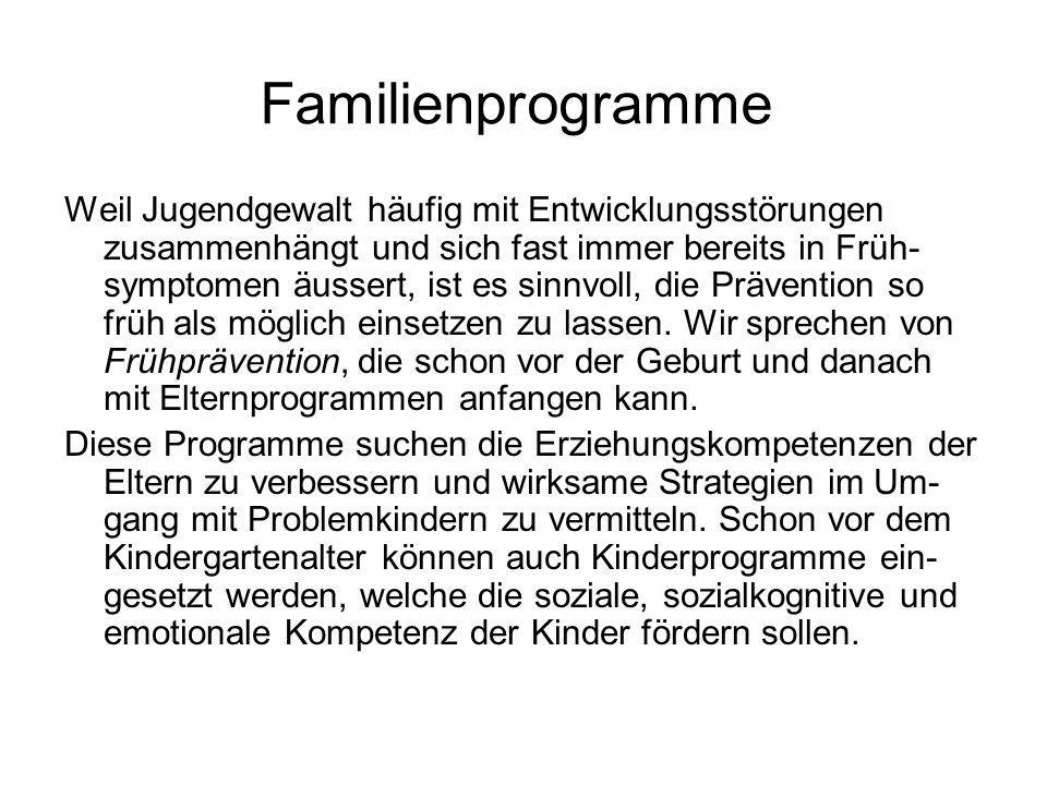 Familienprogramme