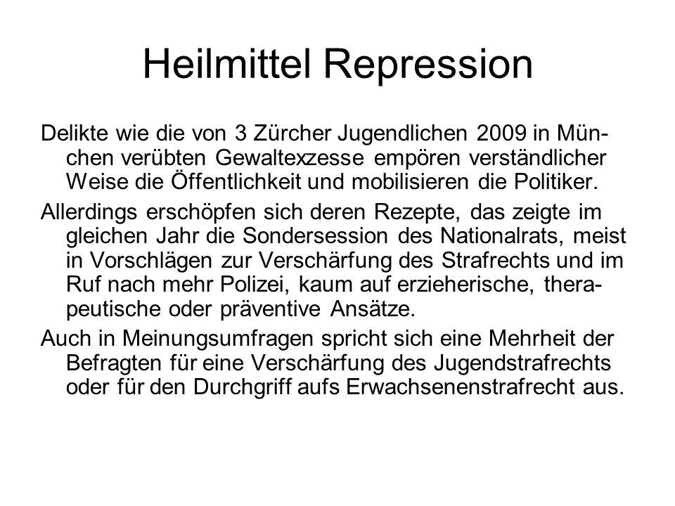 Heilmittel Repression
