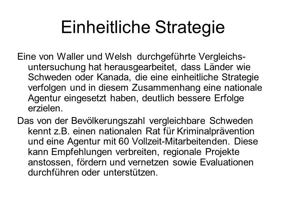 Einheitliche Strategie