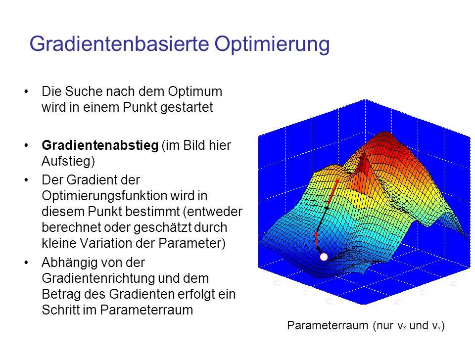 Gradientenbasierte Optimierung