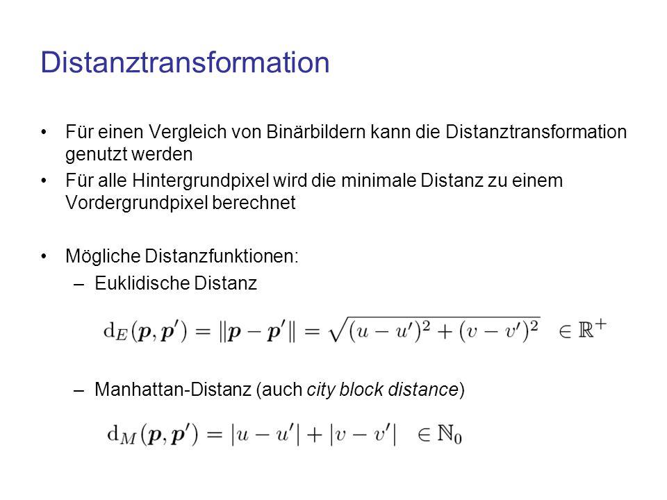 Distanztransformation