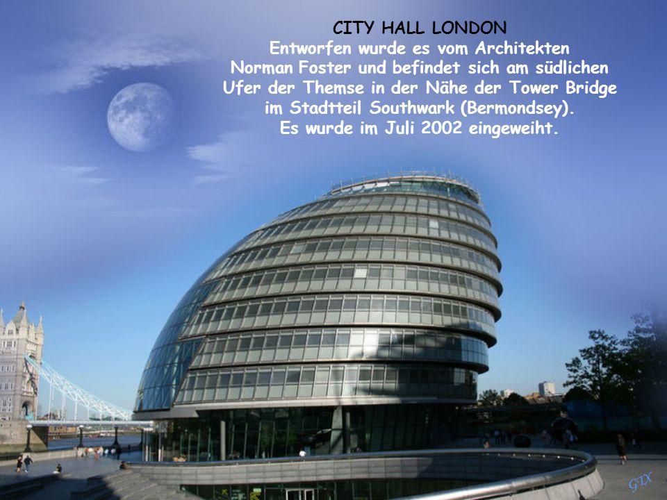 Entworfen wurde es vom Architekten Es wurde im Juli 2002 eingeweiht.