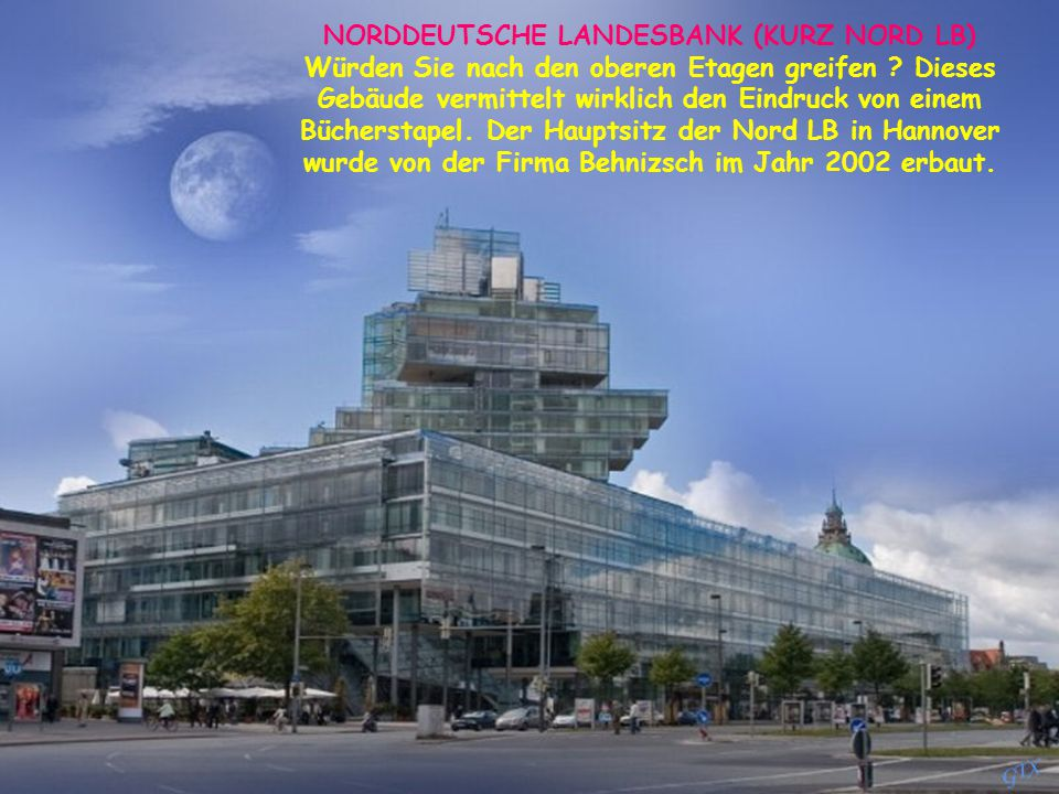 NORDDEUTSCHE LANDESBANK (KURZ NORD LB)