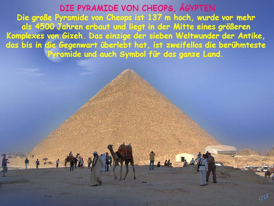 DIE PYRAMIDE VON CHEOPS, ÄGYPTEN