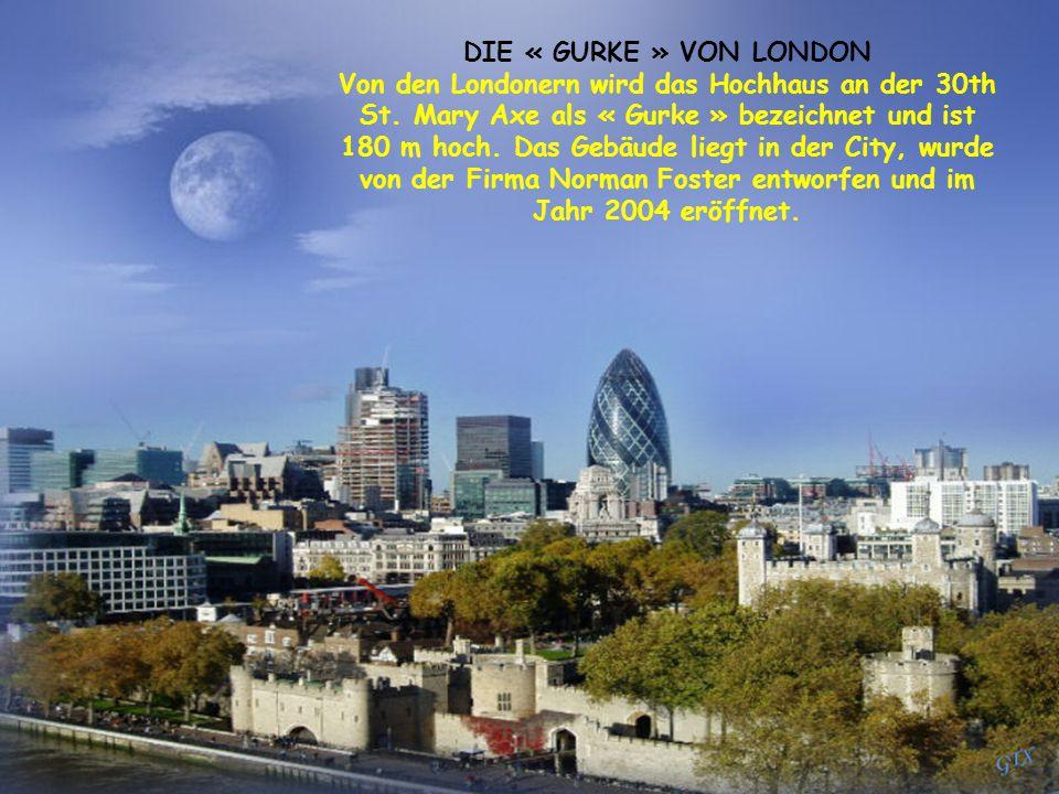 Von den Londonern wird das Hochhaus an der 30th