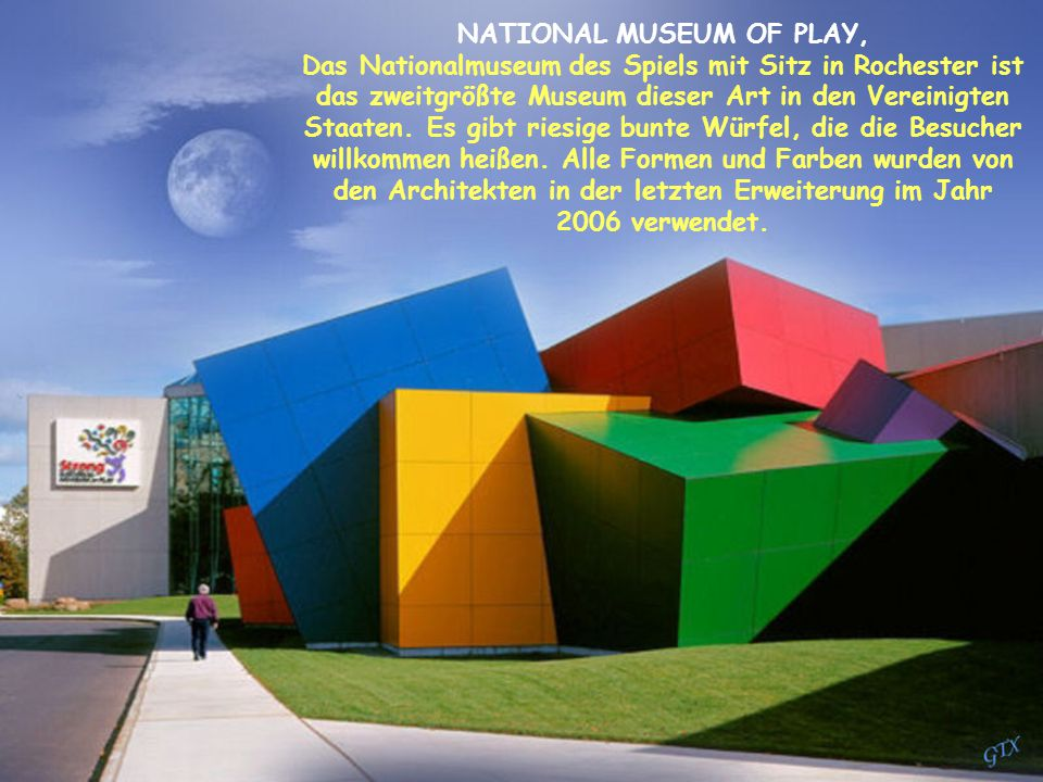 NATIONAL MUSEUM OF PLAY,