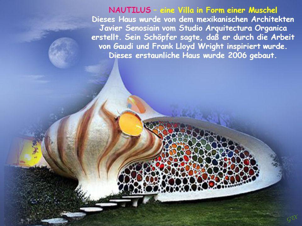 NAUTILUS – eine Villa in Form einer Muschel