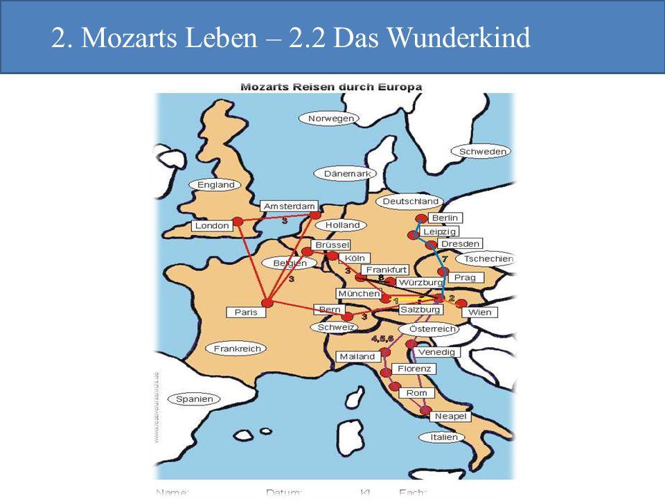 2. Mozarts Leben – 2.2 Das Wunderkind