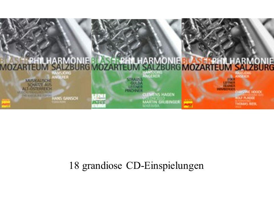 18 grandiose CD-Einspielungen