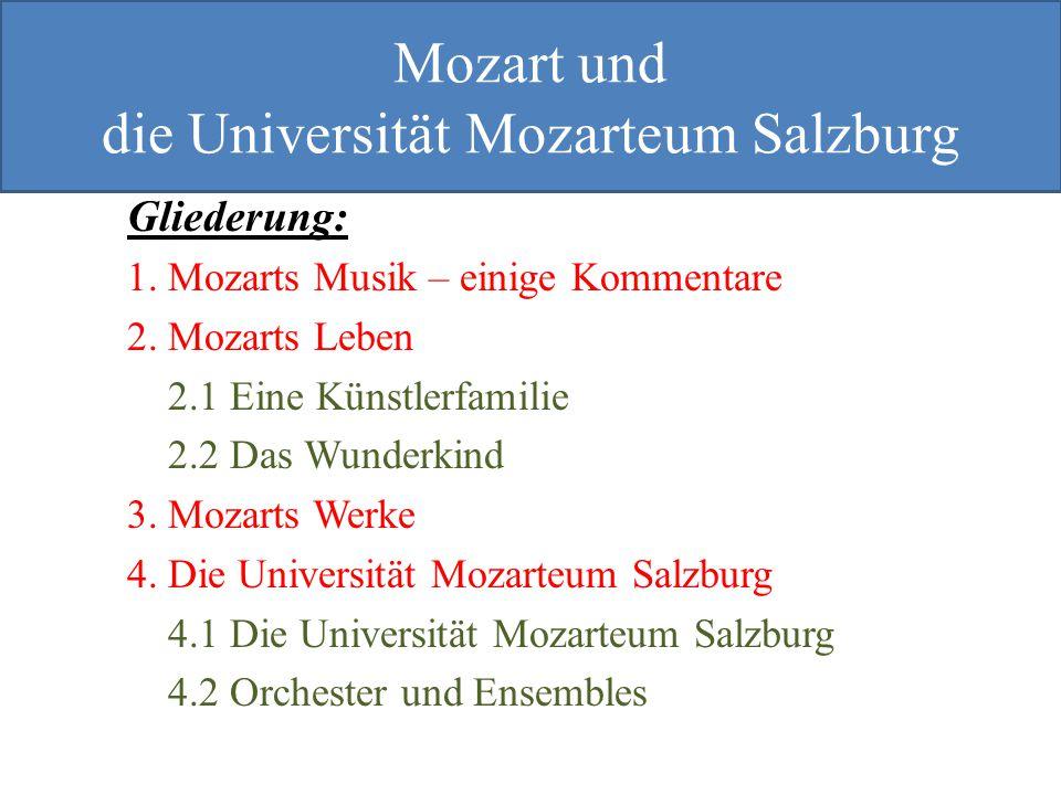 die Universität Mozarteum Salzburg