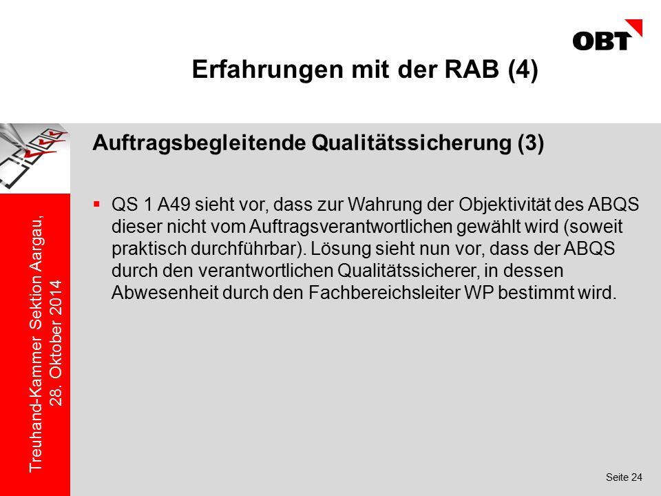 Erfahrungen mit der RAB (4)