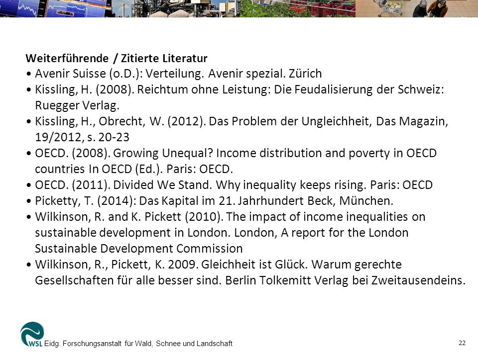 • Avenir Suisse (o.D.): Verteilung. Avenir spezial. Zürich