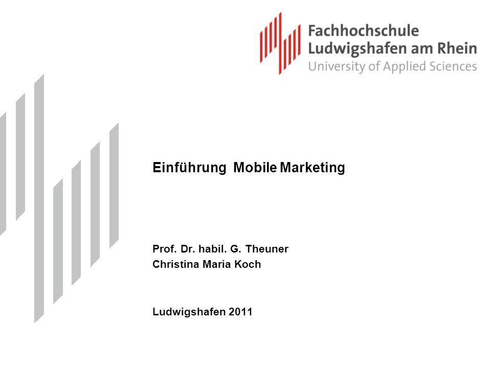Einführung Mobile Marketing