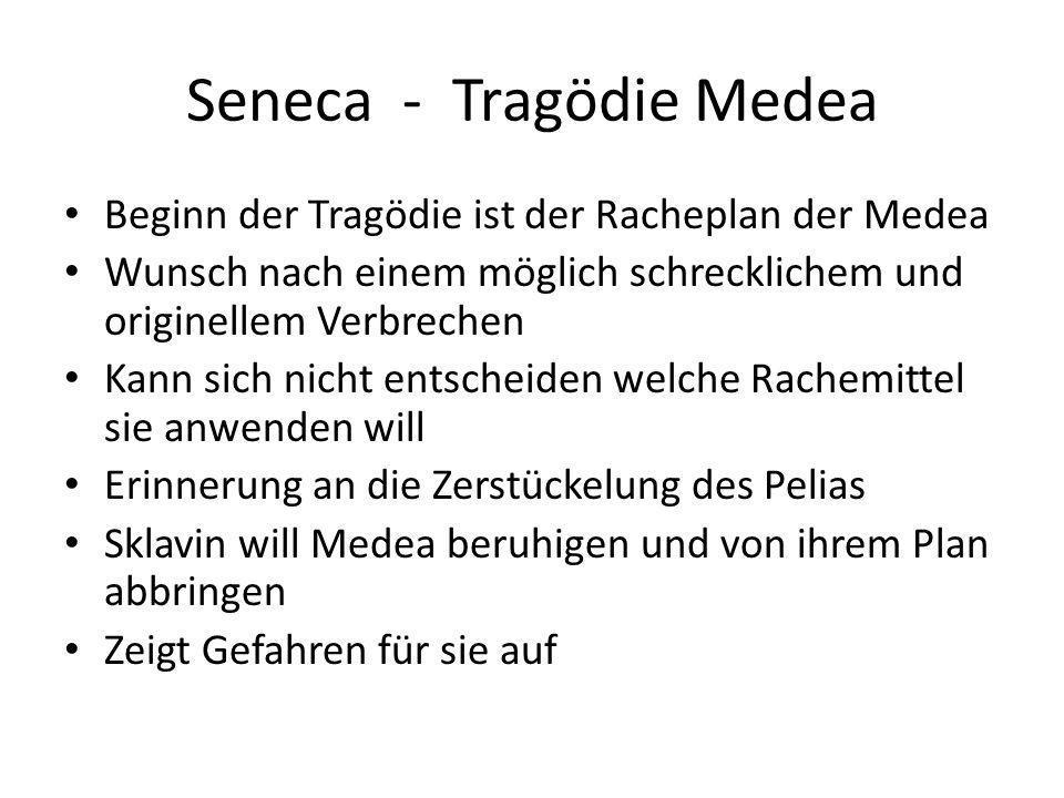 Seneca - Tragödie Medea