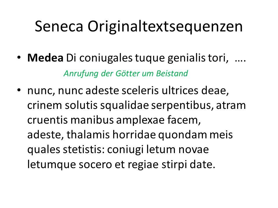 Seneca Originaltextsequenzen