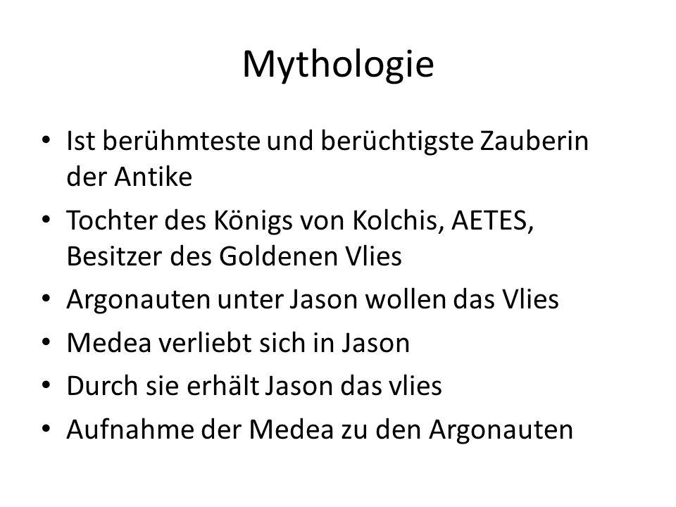 Mythologie Ist berühmteste und berüchtigste Zauberin der Antike