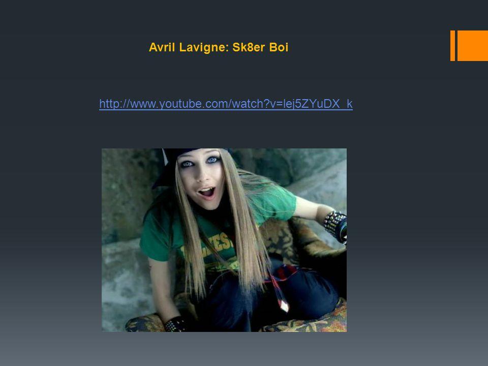 Avril Lavigne: Sk8er Boi