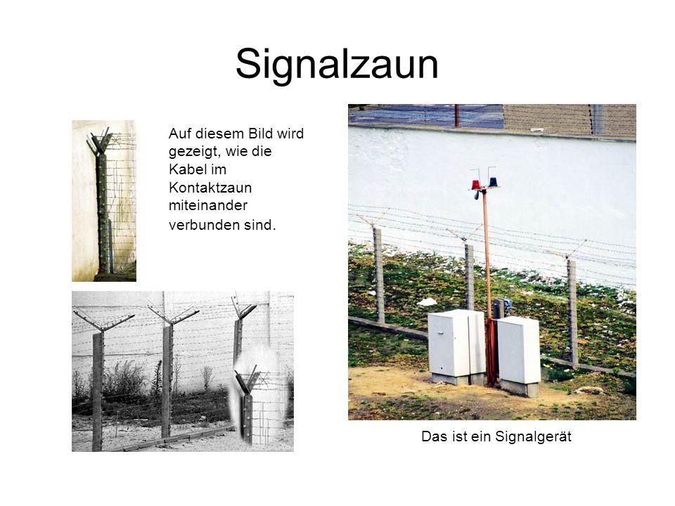 Das ist ein Signalgerät