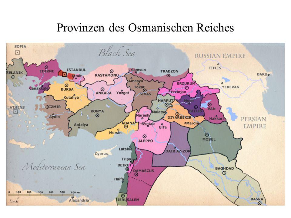 Provinzen des Osmanischen Reiches