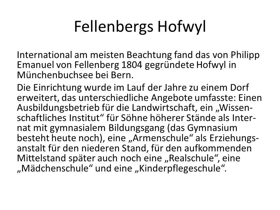 Fellenbergs Hofwyl