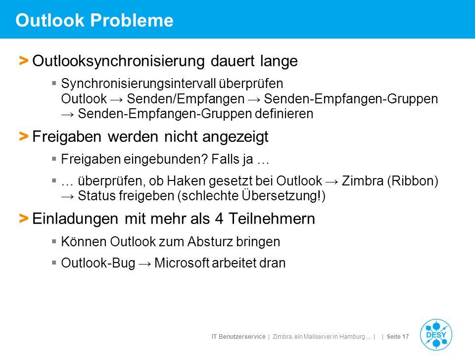 Outlook Probleme Outlooksynchronisierung dauert lange