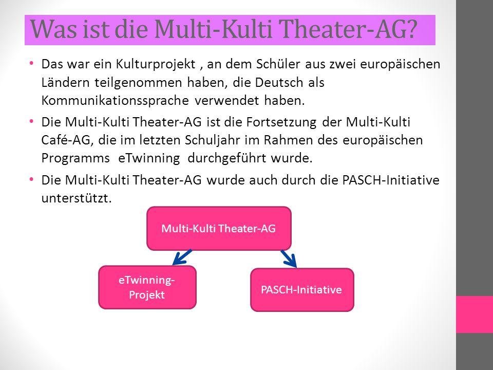Was ist die Multi-Kulti Theater-AG