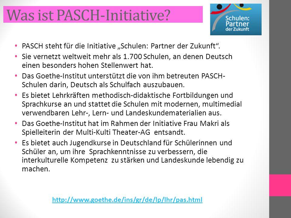Was ist PASCH-Initiative