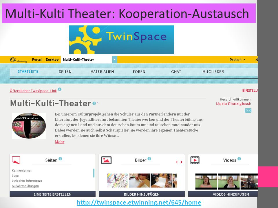 Multi-Kulti Theater: Kooperation-Austausch