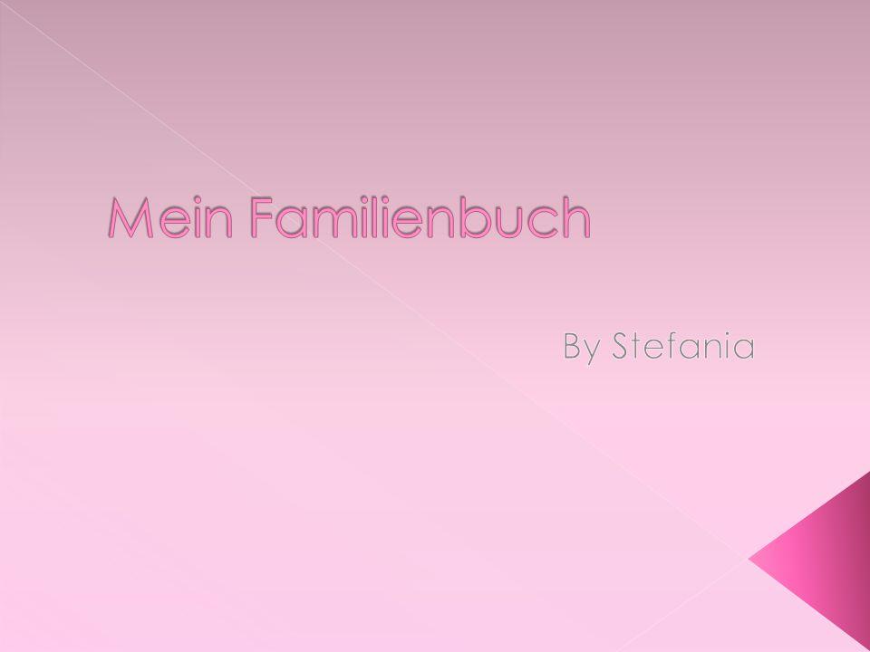 Mein Familienbuch By Stefania