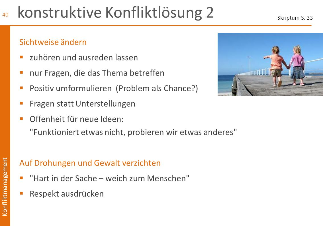 konstruktive Konfliktlösung 2