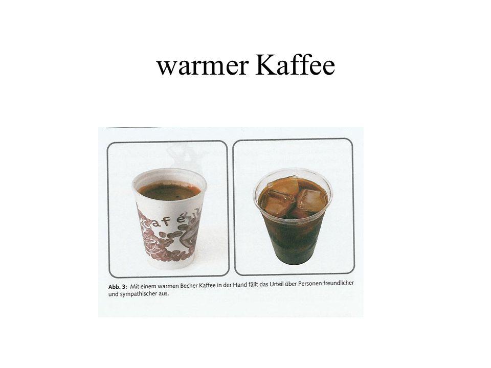 warmer Kaffee