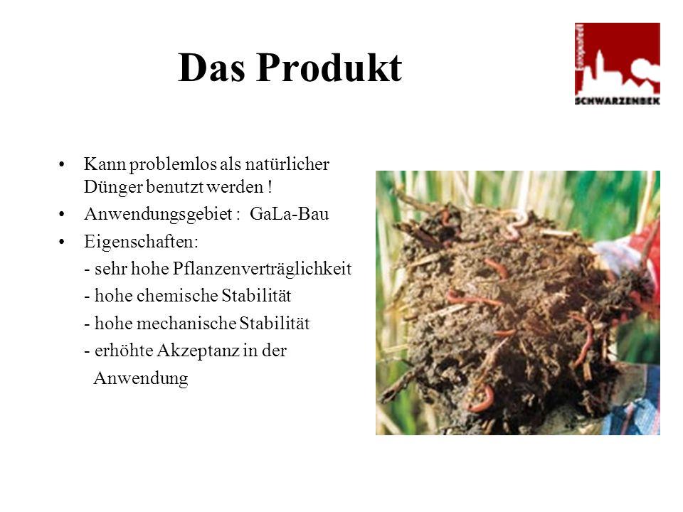 Das Produkt Kann problemlos als natürlicher Dünger benutzt werden !