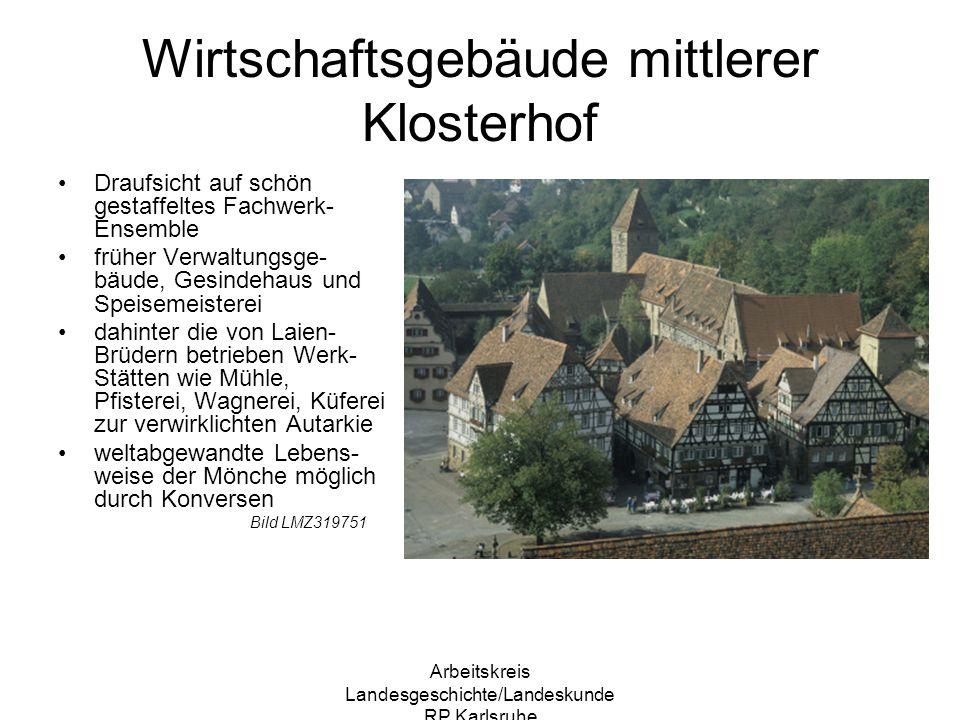Wirtschaftsgebäude mittlerer Klosterhof