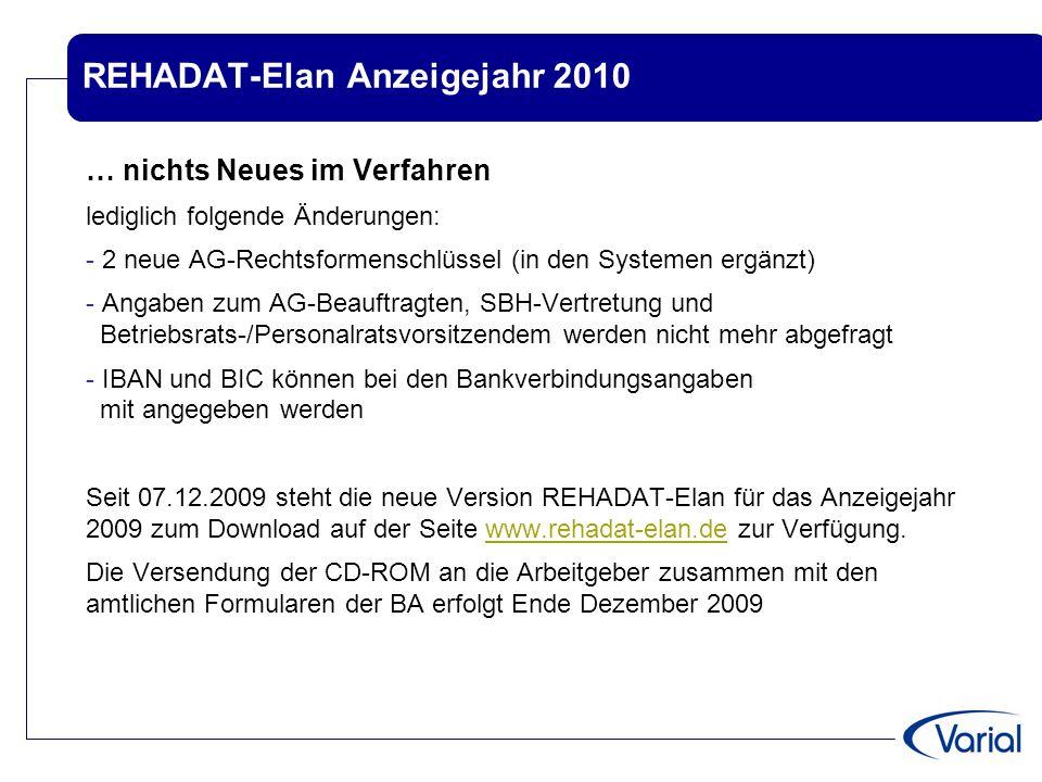 REHADAT-Elan Anzeigejahr 2010