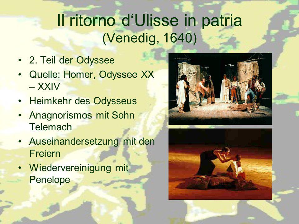 Il ritorno d'Ulisse in patria (Venedig, 1640)