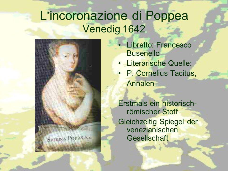 L'incoronazione di Poppea Venedig 1642