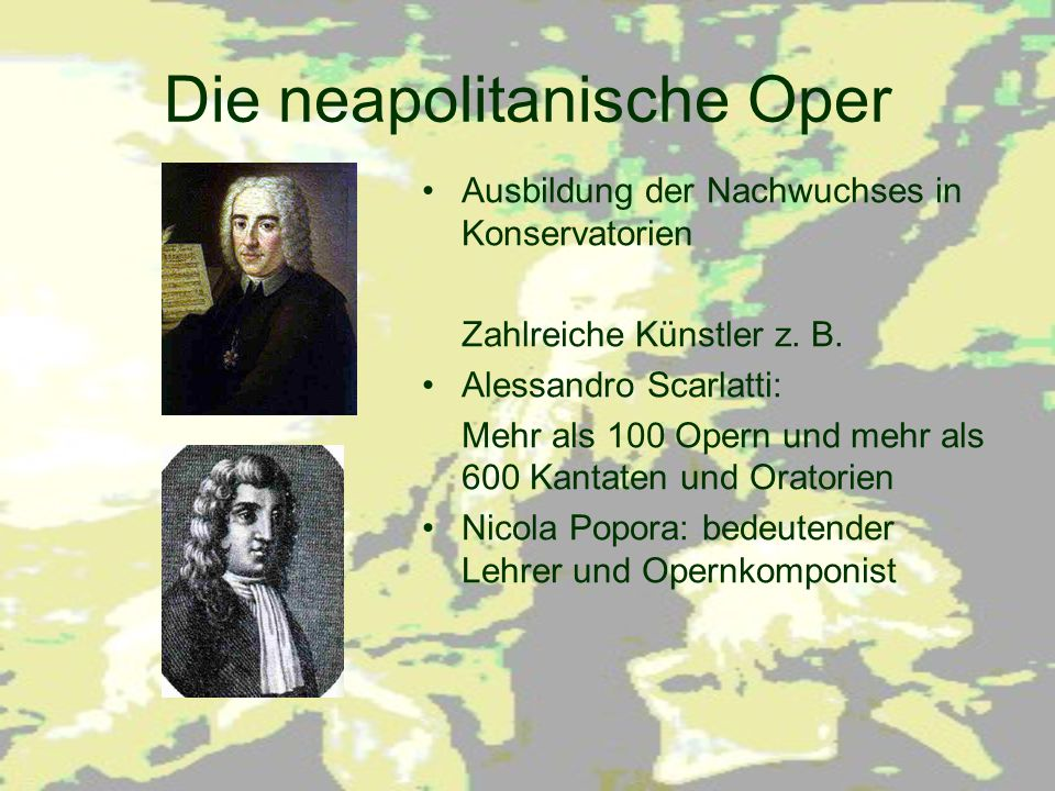 Die neapolitanische Oper