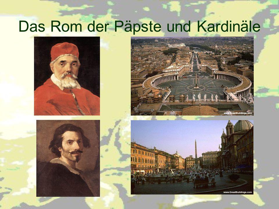 Das Rom der Päpste und Kardinäle