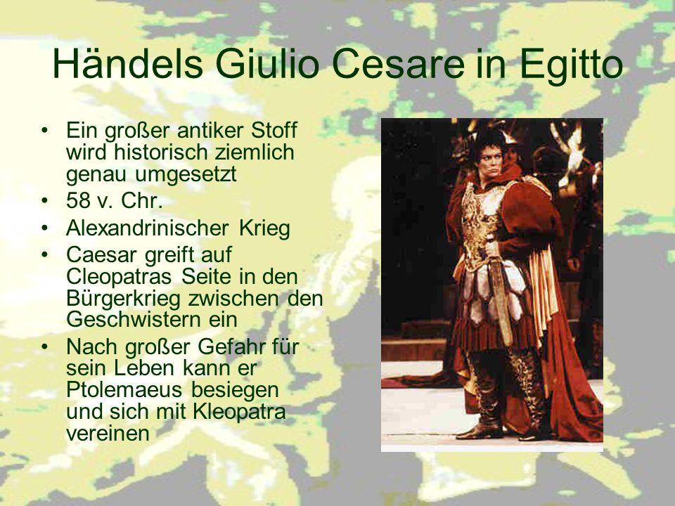 Händels Giulio Cesare in Egitto