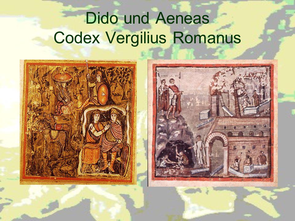 Dido und Aeneas Codex Vergilius Romanus