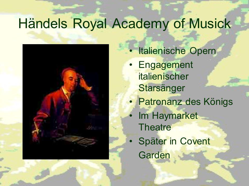 Händels Royal Academy of Musick