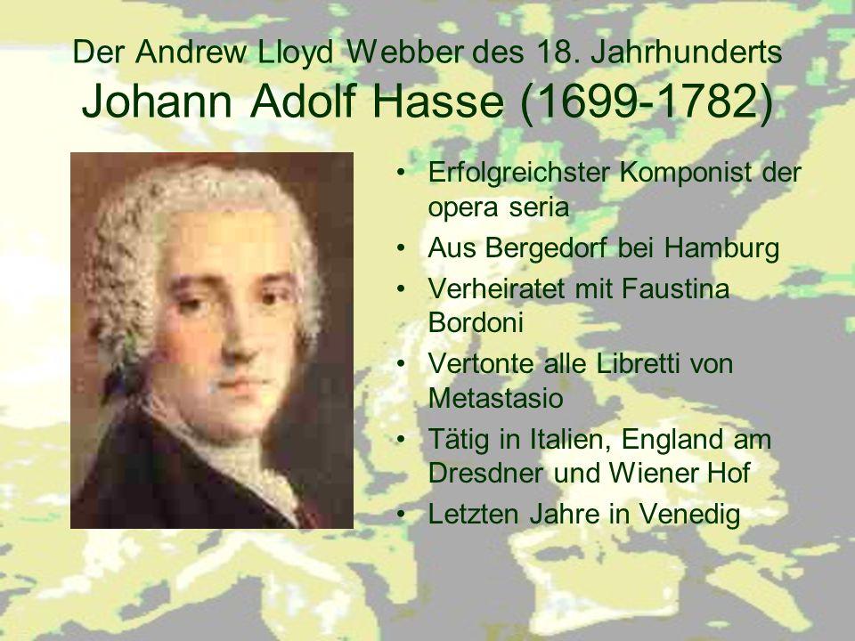 Der Andrew Lloyd Webber des 18