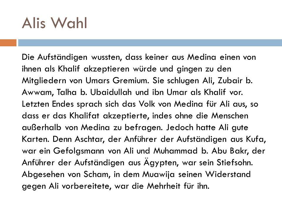 Alis Wahl