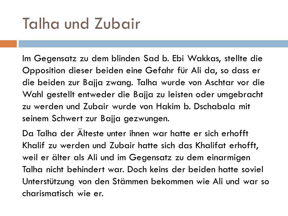 Talha und Zubair