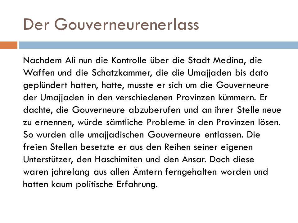 Der Gouverneurenerlass