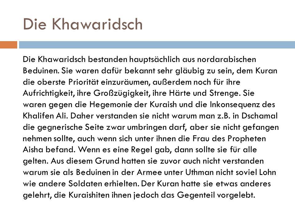Die Khawaridsch