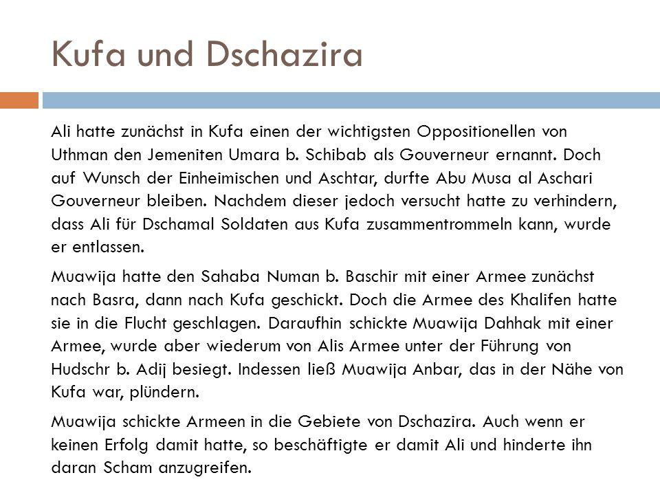 Kufa und Dschazira