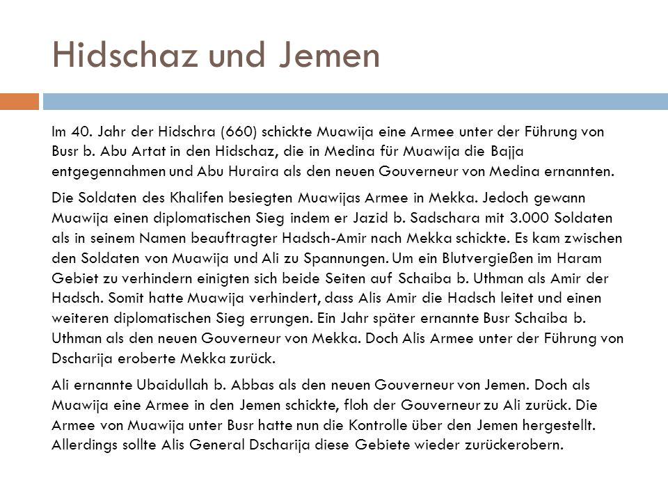 Hidschaz und Jemen